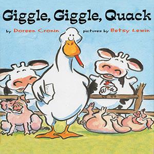 Giggle Giggle Quack book cover